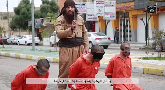 ISIS execution screenshot