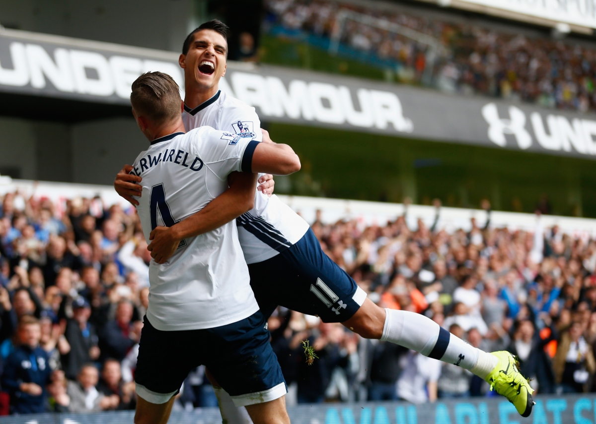 Toby Alderweireld and Erik Lamela