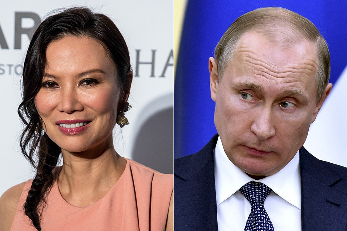 Wendy Deng, Vladimir Putin