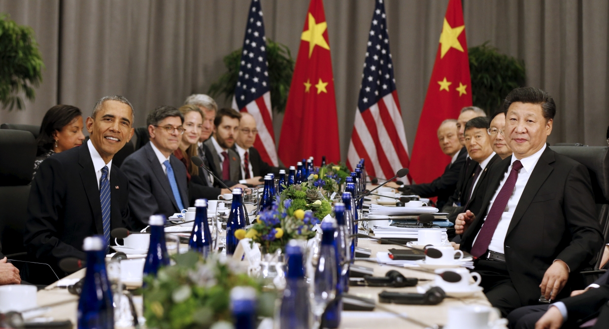 Obama Xi talks