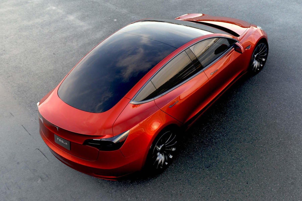 Tesla Model 3 Will Have The Interior Of A Spaceship Says
