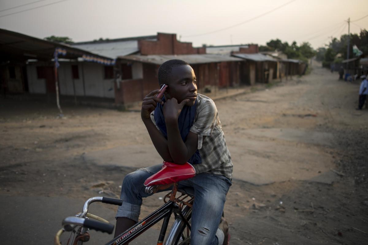 Mobile phones in Burundi
