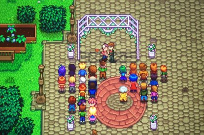 Stardew Valley Wedding