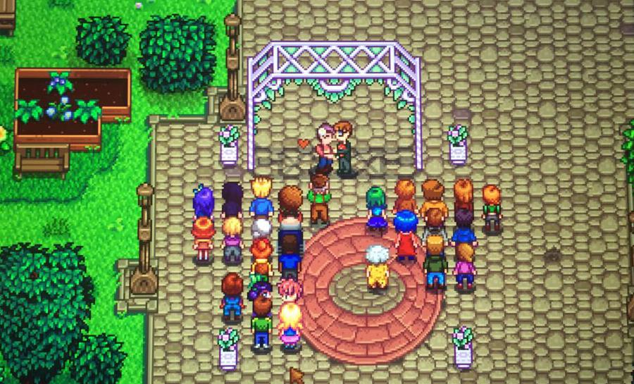 Stardew Valley Wedding