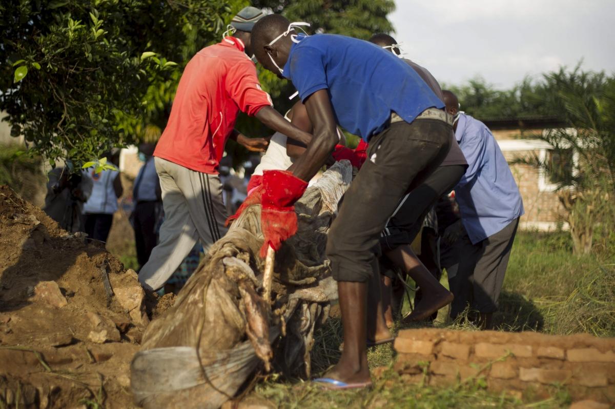 Mass graves in Burundi