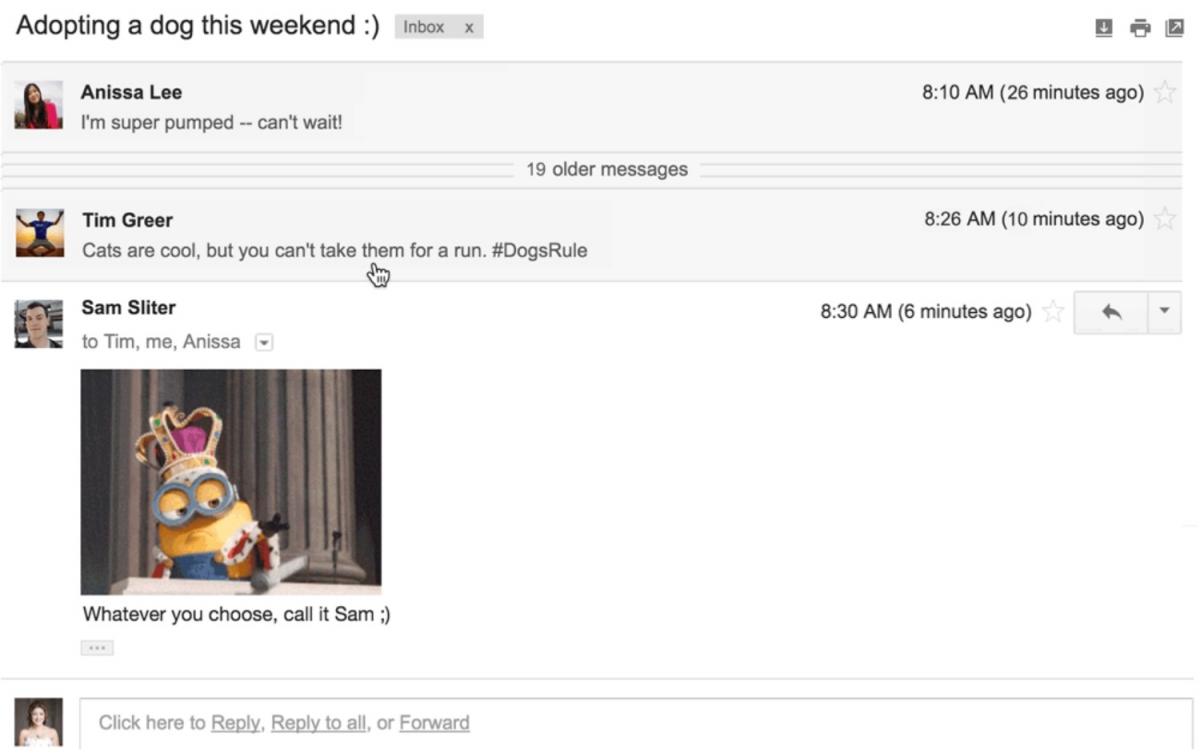 Gmail's ill-fated Drop Mic April Fools' prank