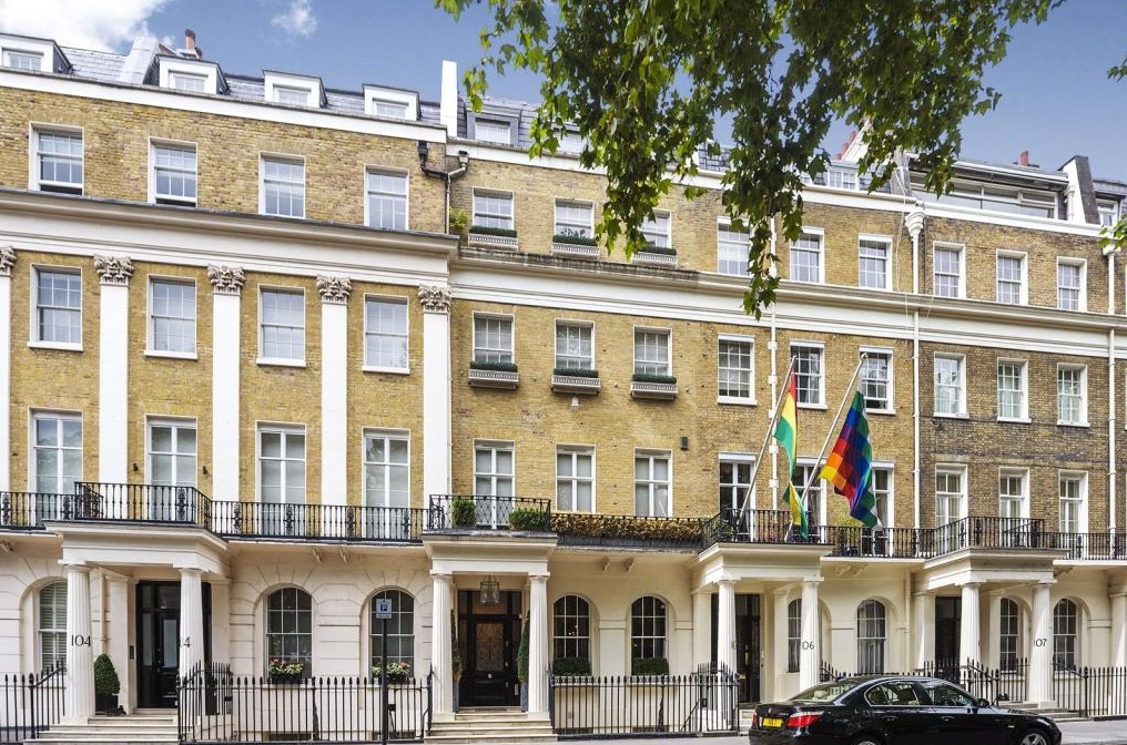 London property Belgravia Eaton Square
