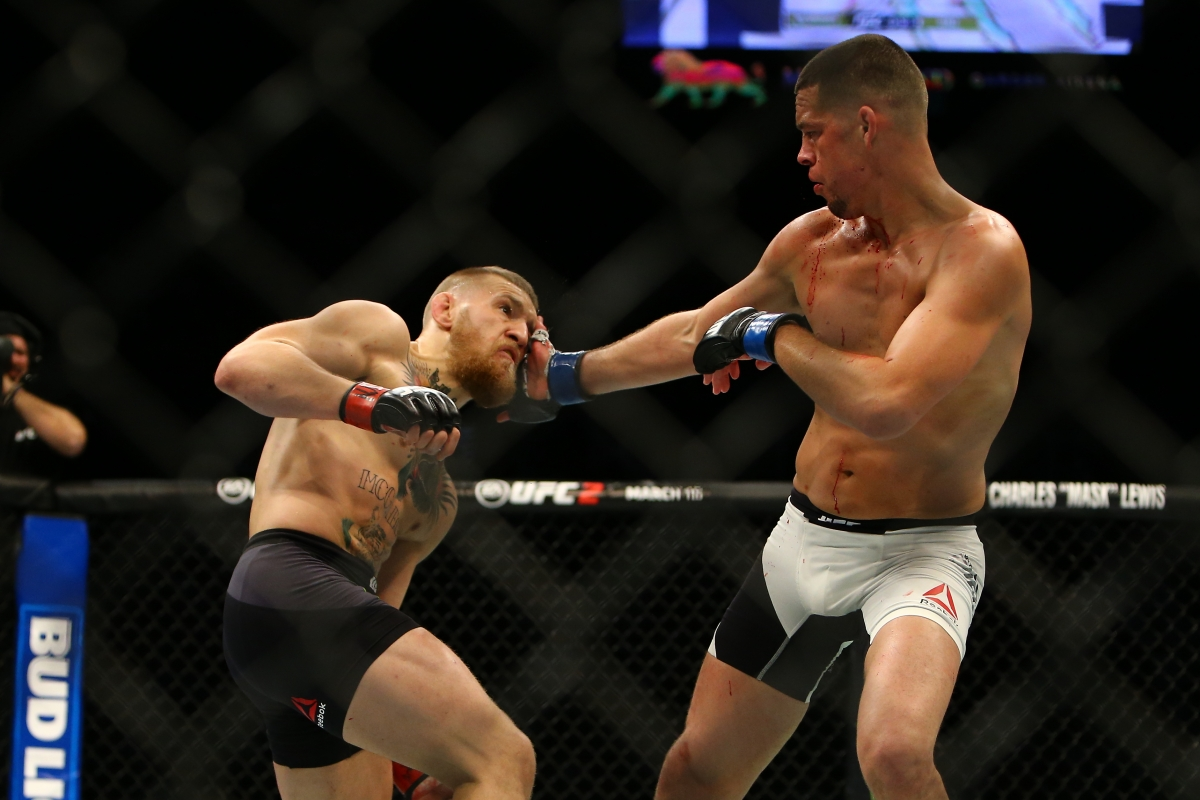 Nate Diaz vs Conor McGregor