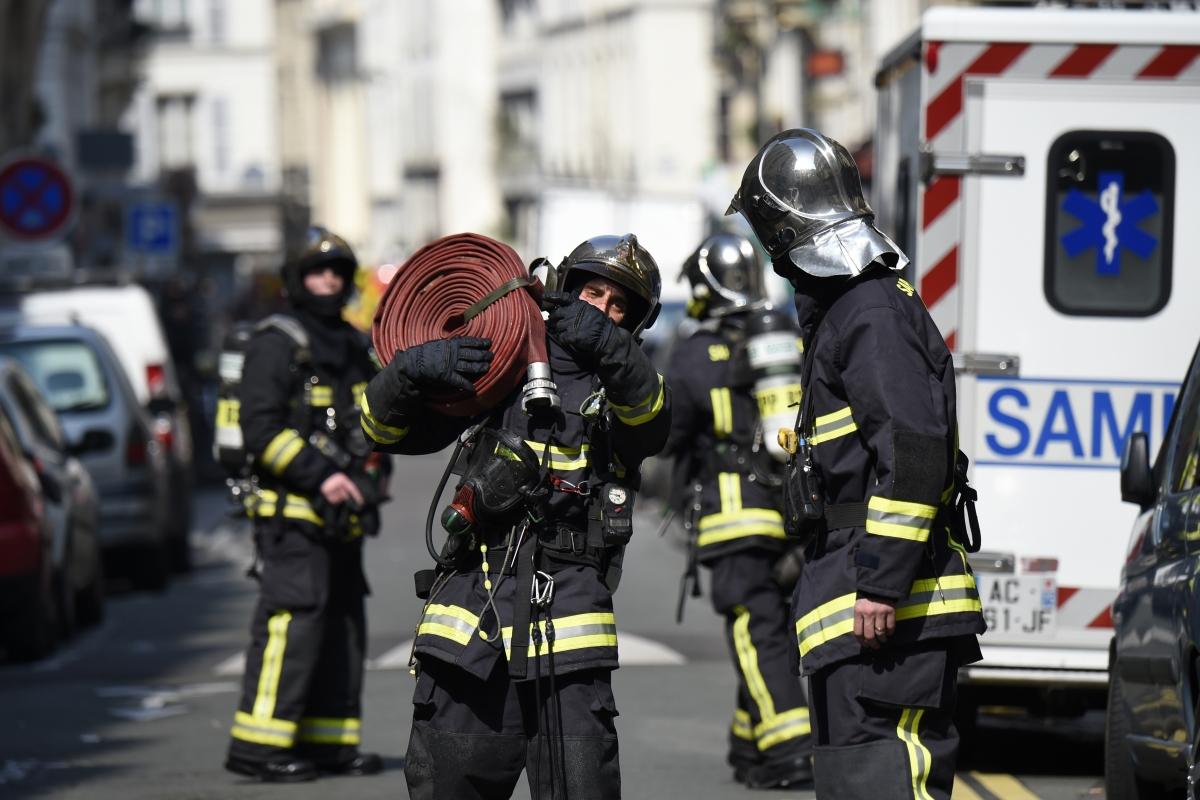 Paris explosion