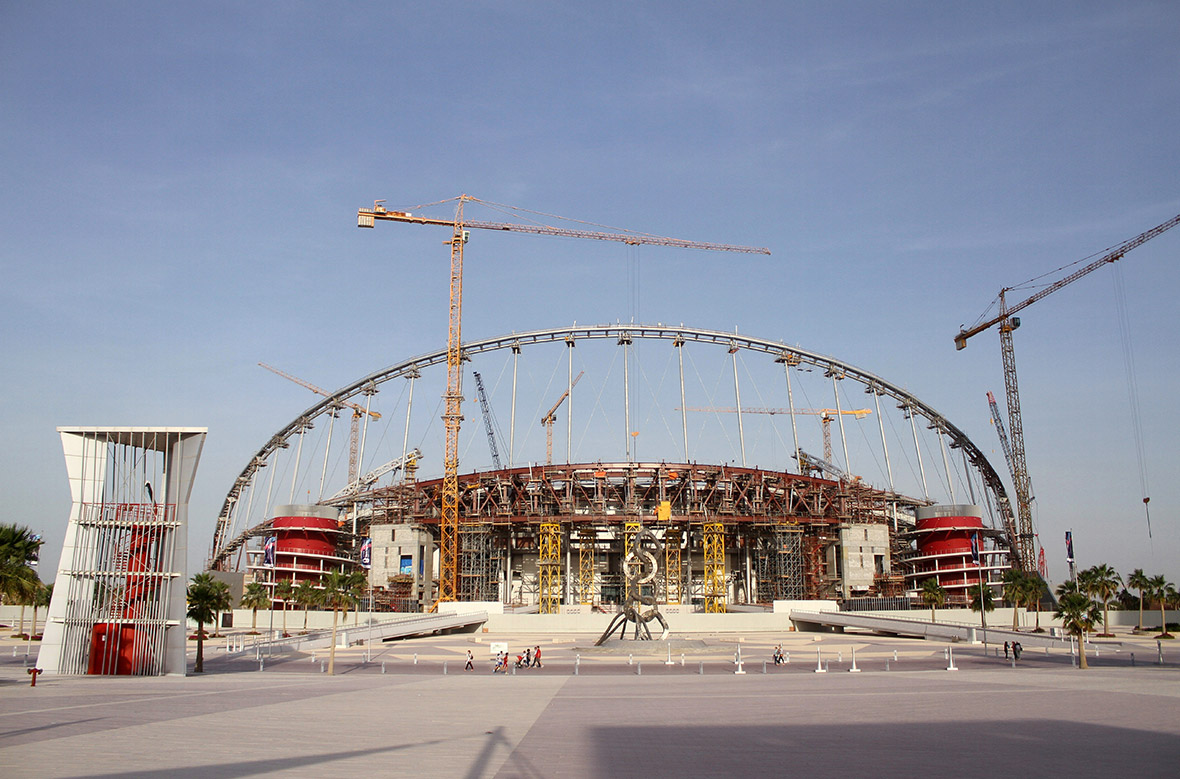 Qatar World Cup workers