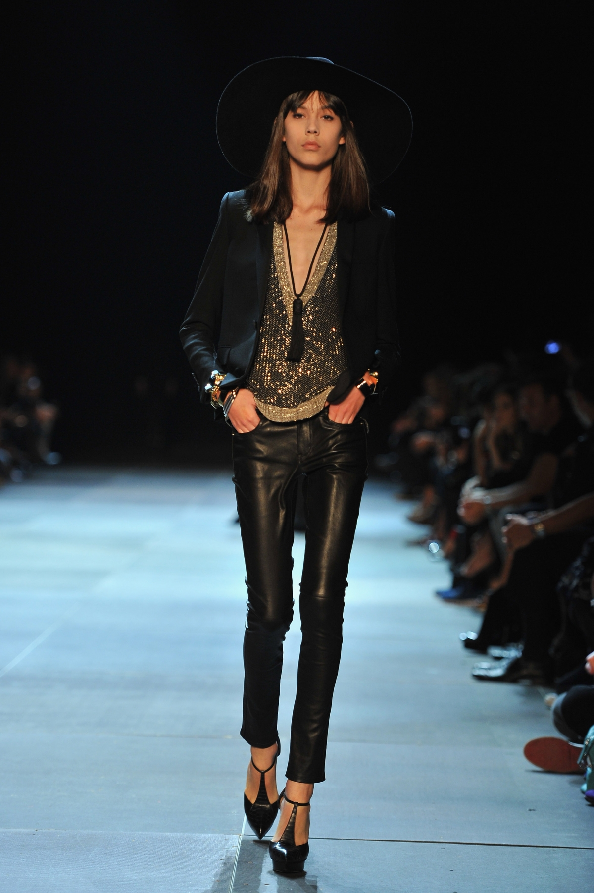 hedi slimane leaves saint laurent