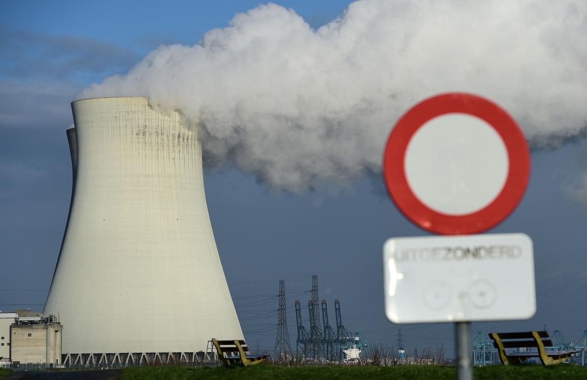 Belgium nuclear sites