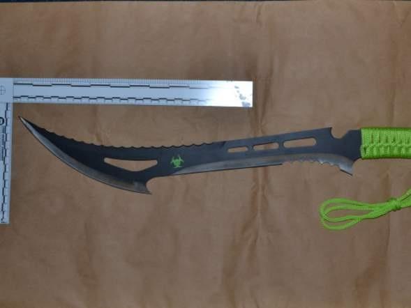 Zombie killer knife