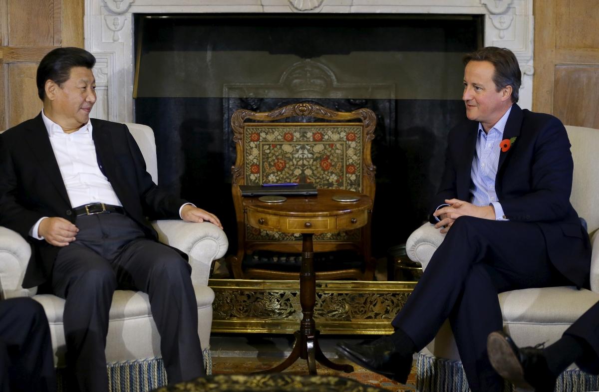 Xi and Cameron