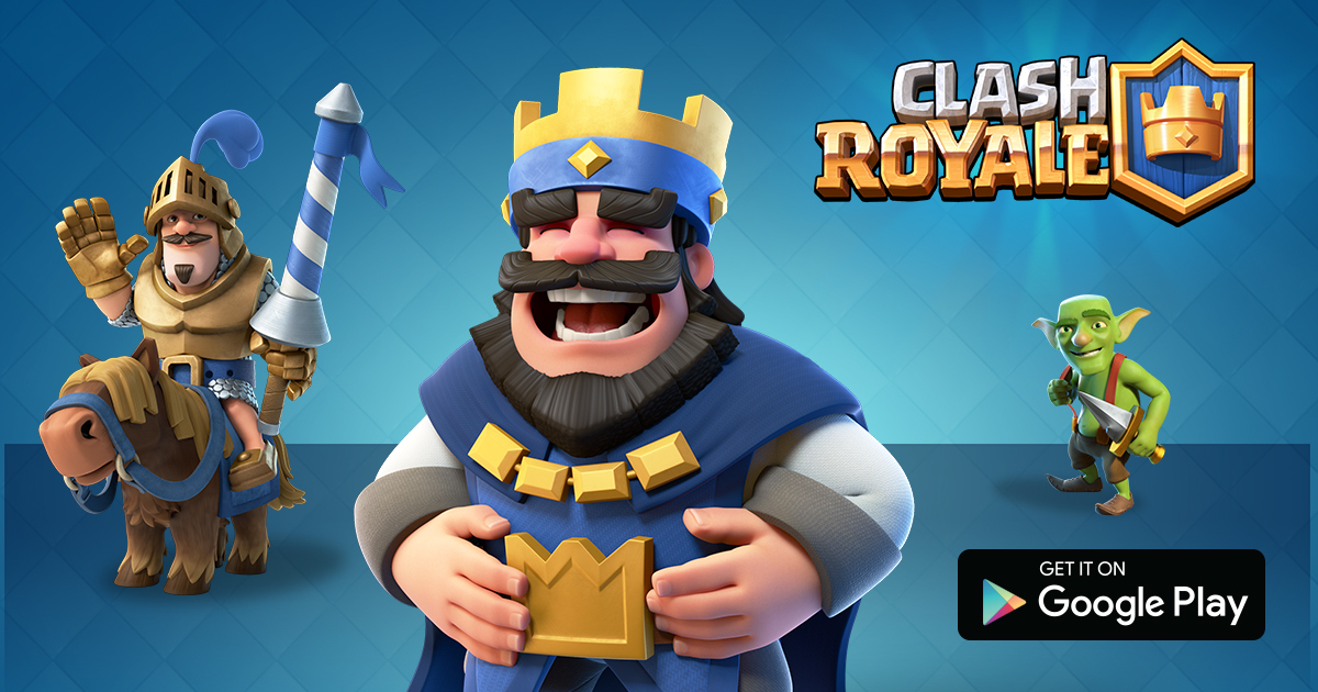 Clash Royalespelen gratis android en ios hack apk
