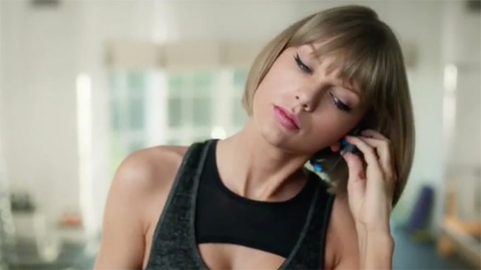 Taylor Swift Apple ad