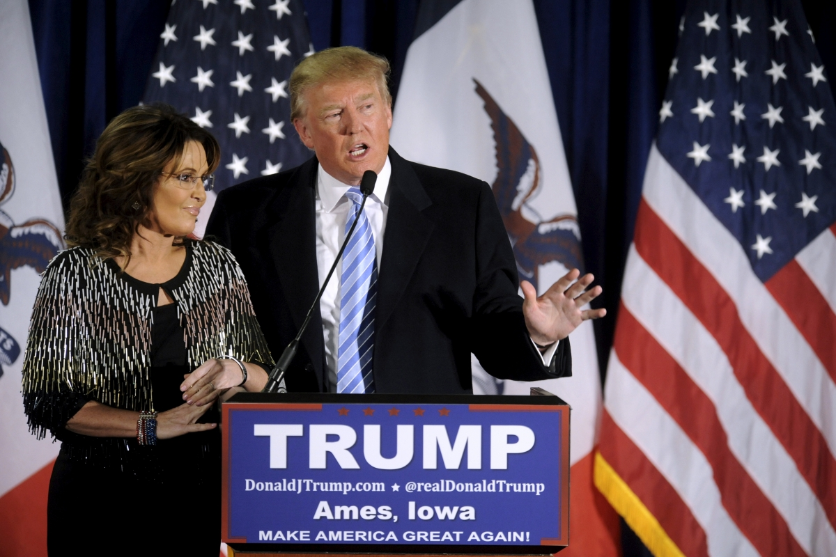 Trump and Palin