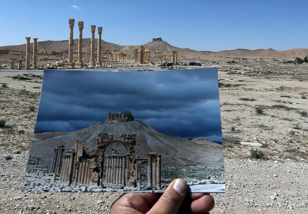 Palmyra destruction