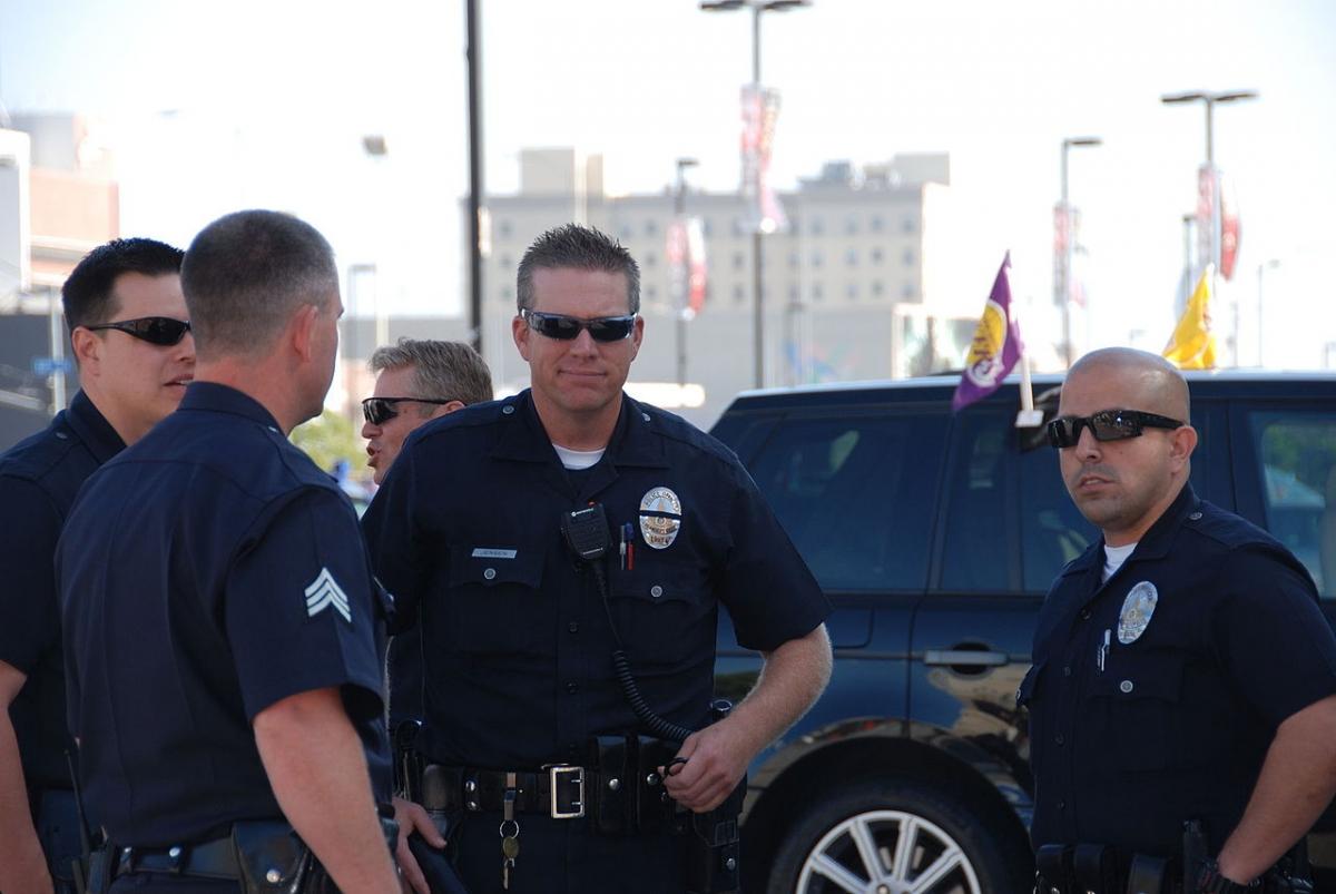 Los Angeles police officers