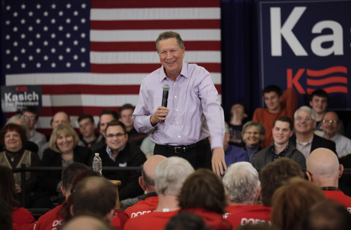 US election 2016: Kasich says Donald Trump would get 'crushed' by Hilary Clinton