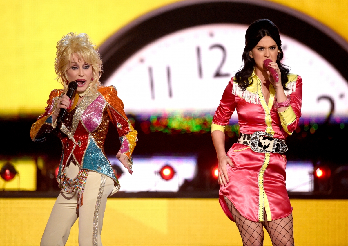 Dolly Parton and Katy Perry