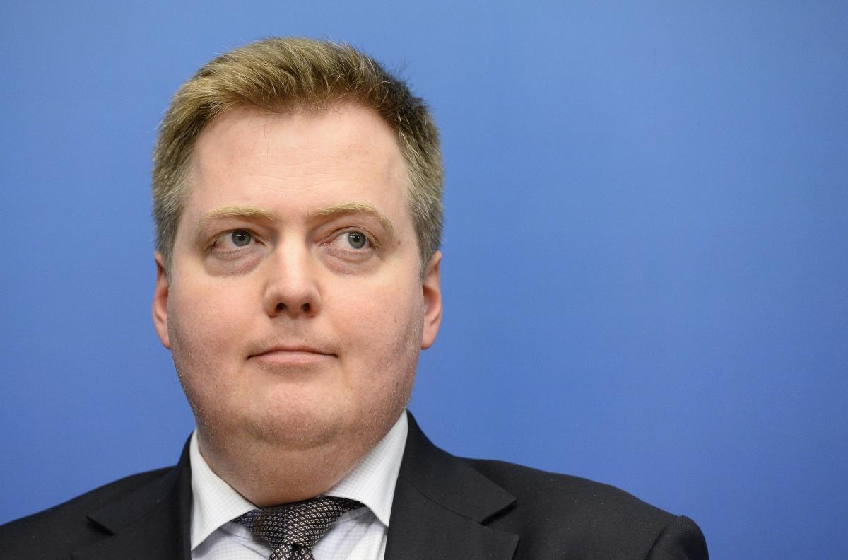 Prime Minister Gunnlaugsson