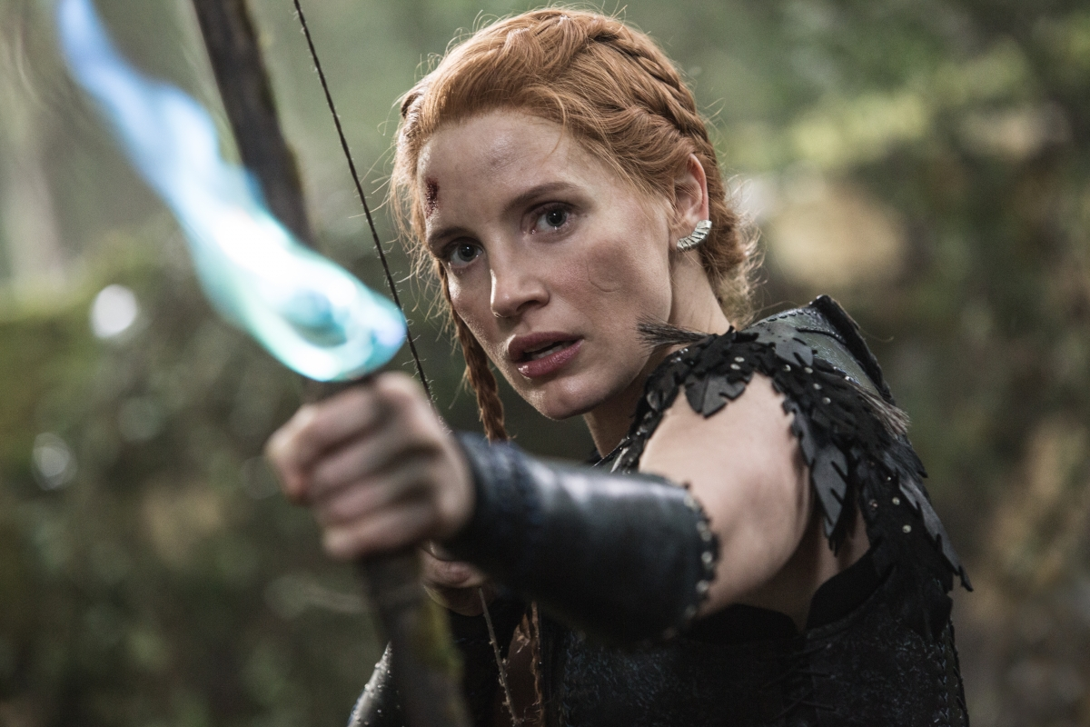 Jessica Chastain in The Huntsman: Winter's War