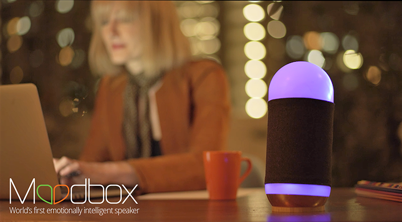 MoodBox Indiegogo Emotionally Intelligent Speaker