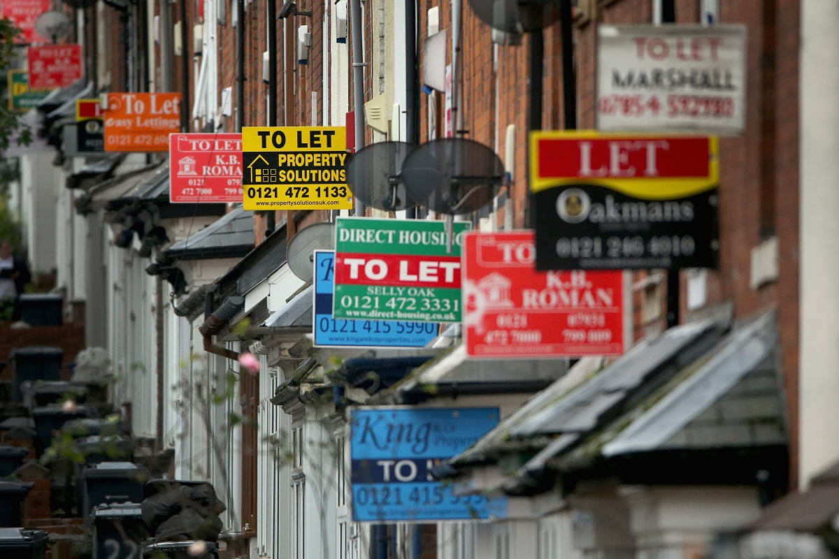 to let signs UK rents