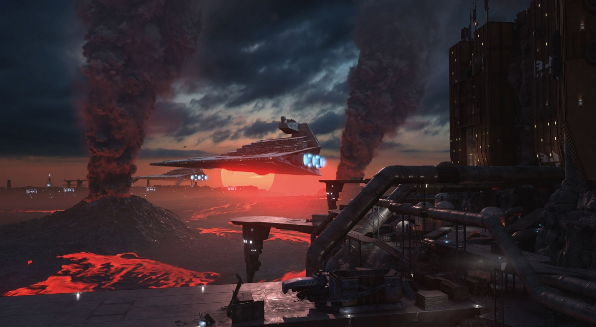 Star Wars Battlefront Outer Rim Sullust
