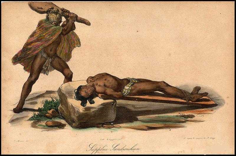 human sacrifice hawaii