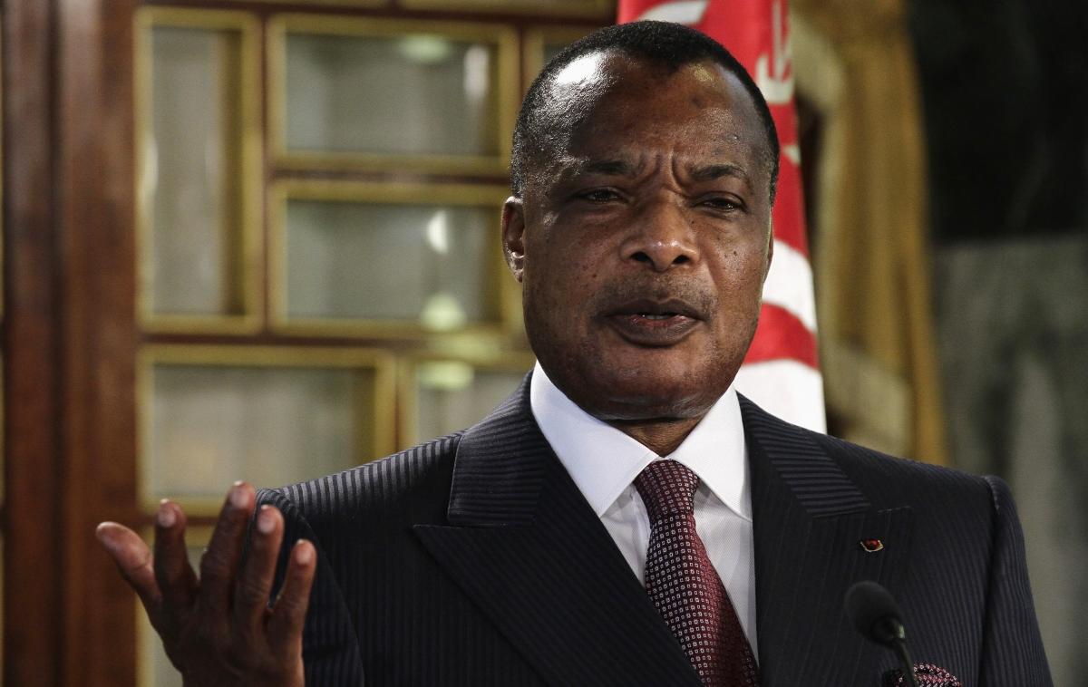 Congo Republic President Denis Sassou Nguesso