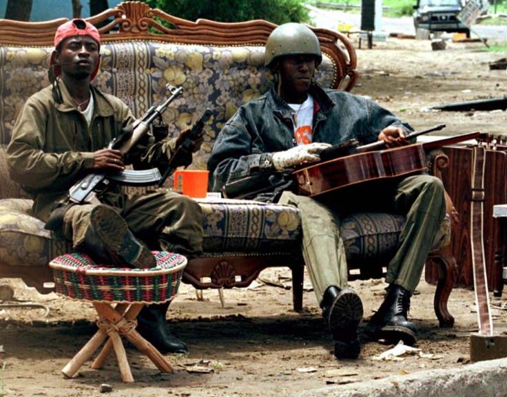 Cobra militia in Republic of Congo
