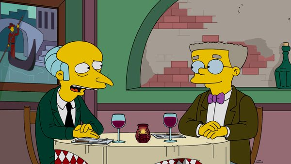 simpsons smithers