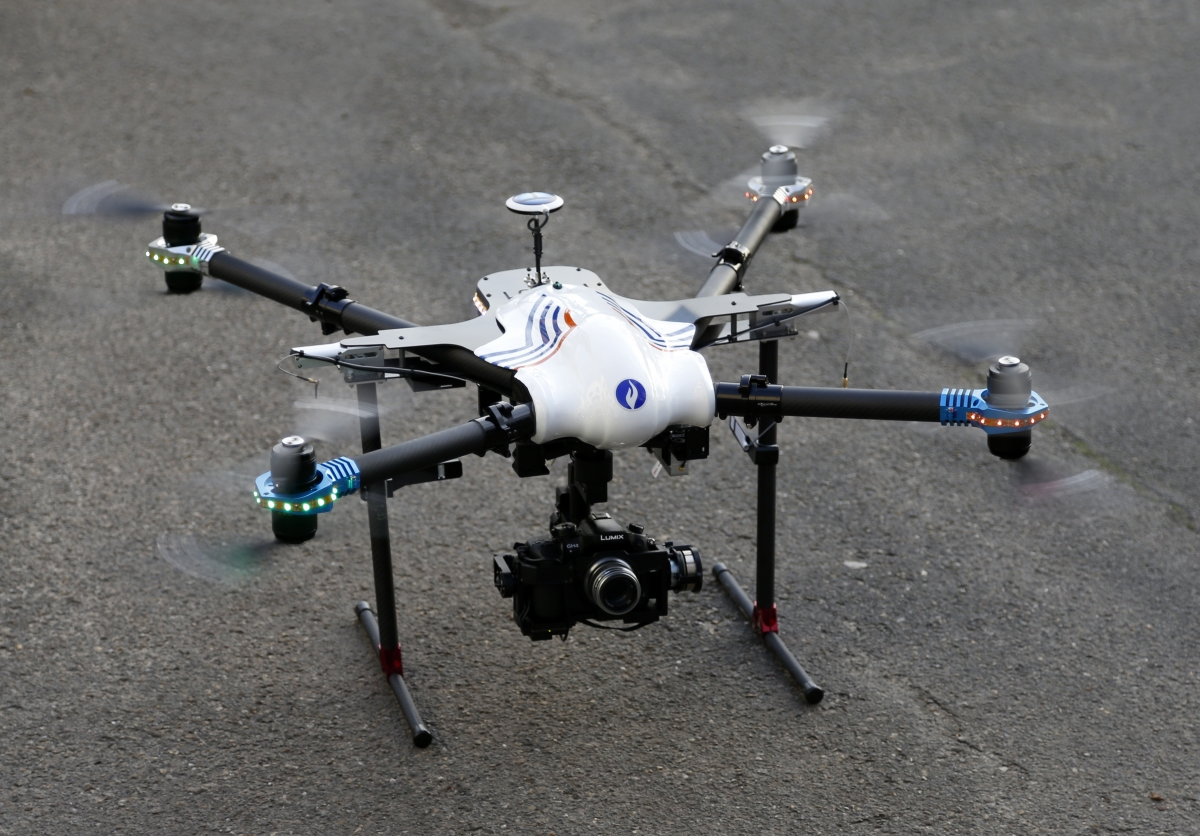 Belgian Federal Police drone