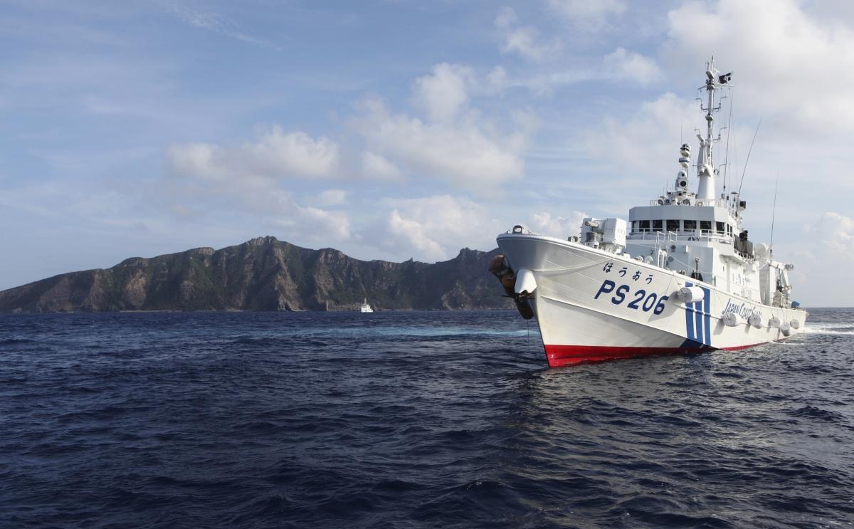 Japan's coast guard in East China Sea