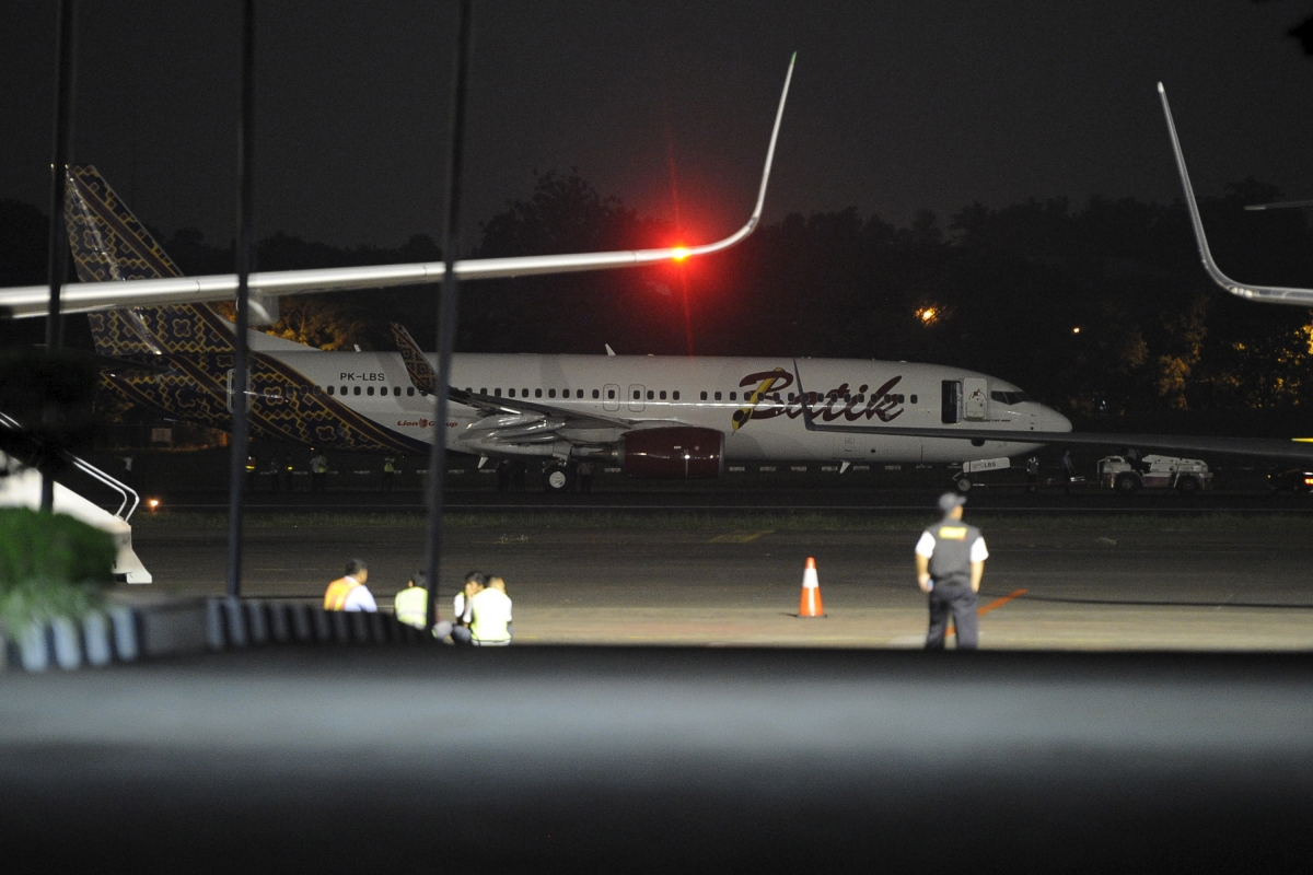 Jakarta plane crash