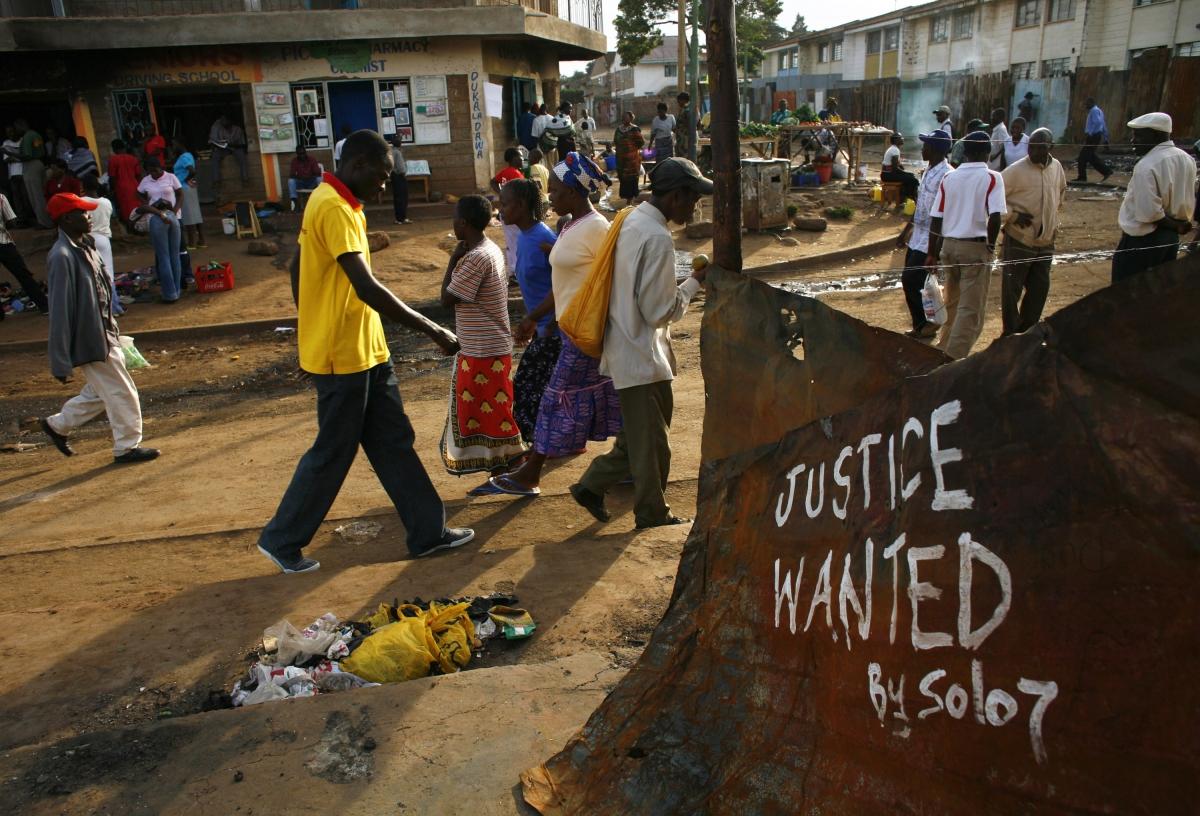 Kenya wants Justice