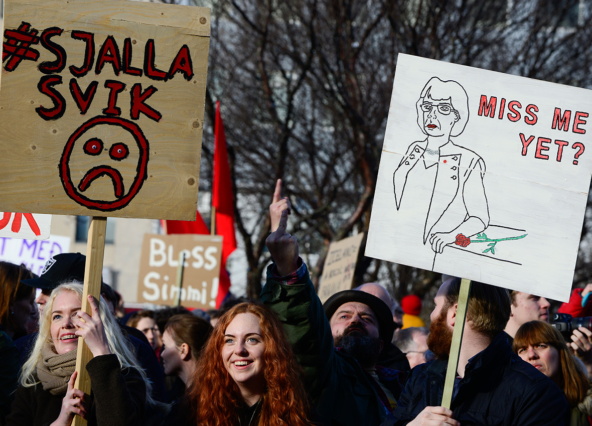 Reykjavik protests