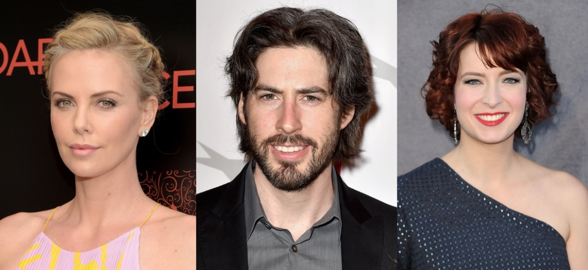 Charlize Theron, Jason Reitman and Diablo Cody
