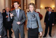 Bashar al-Assad Asma Syria Soulieman Marouf