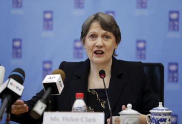UNDP chief Helen Clark