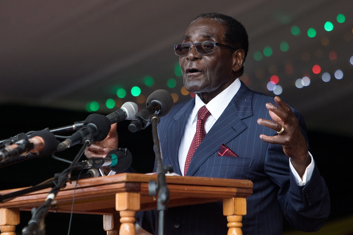 Zimbabwe\'s President Robert Mugabe