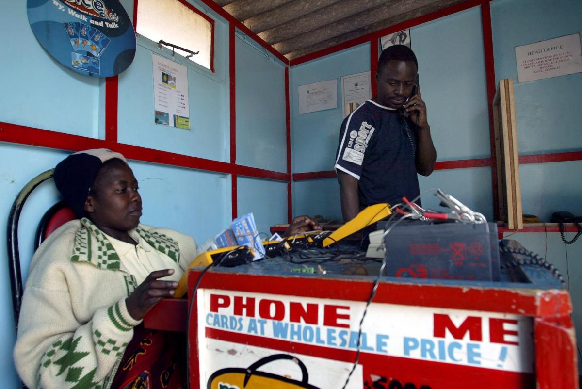 Mobile phones in Zimbabwe
