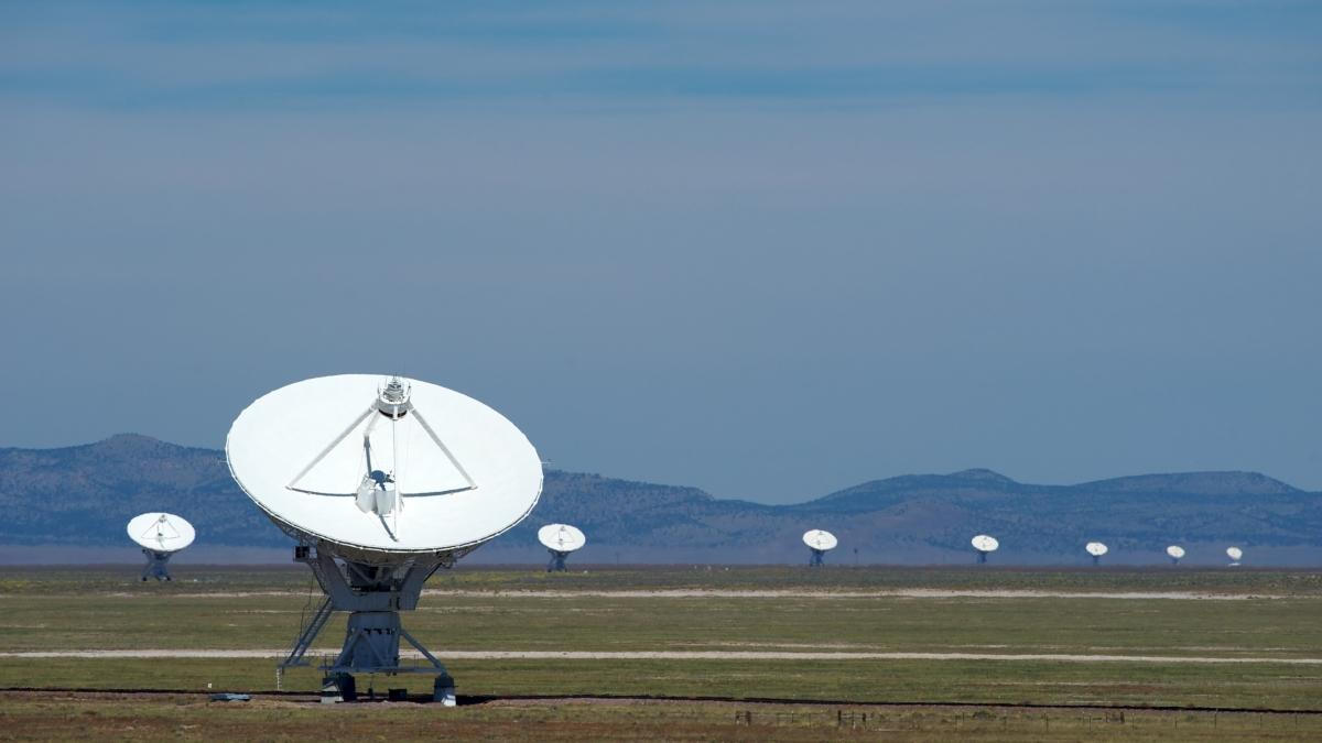Jansky Very Large Array telescope