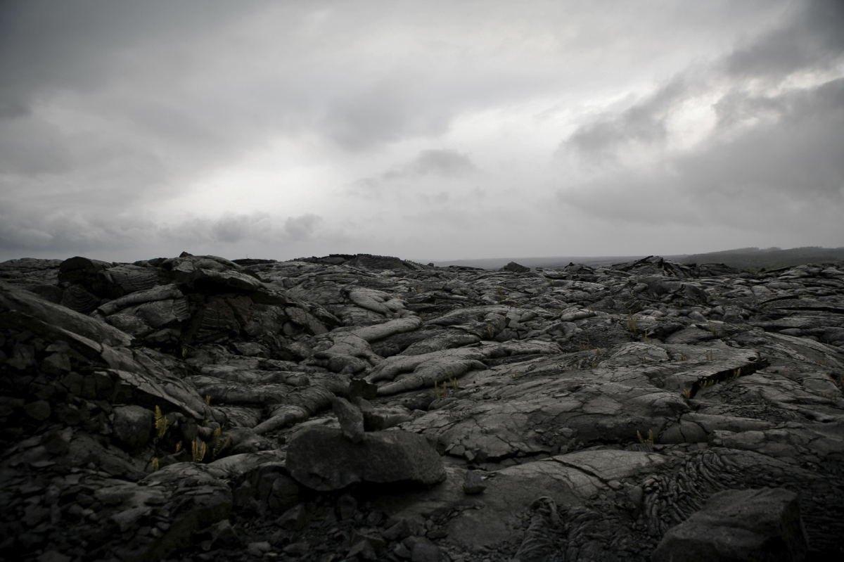 extinction lava field