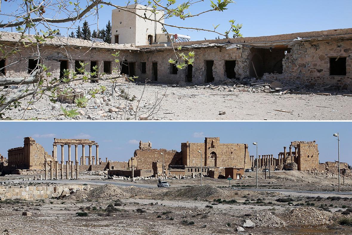 al-Qaryatain, Palmyra