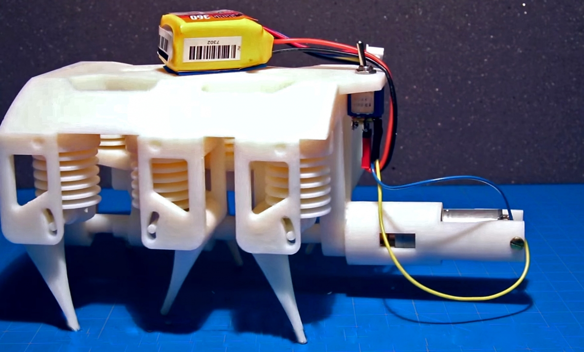 Robots That Walk Are Not New, But This MIT Is Made with a 3D Printer