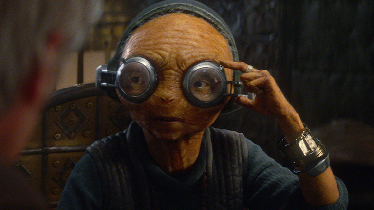 Maz Kanata in The Force Awakens