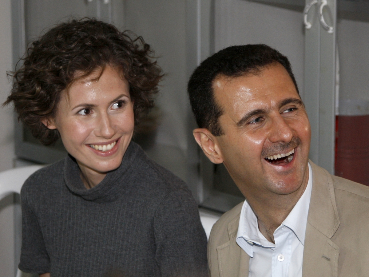 Bashar and Asma Assad